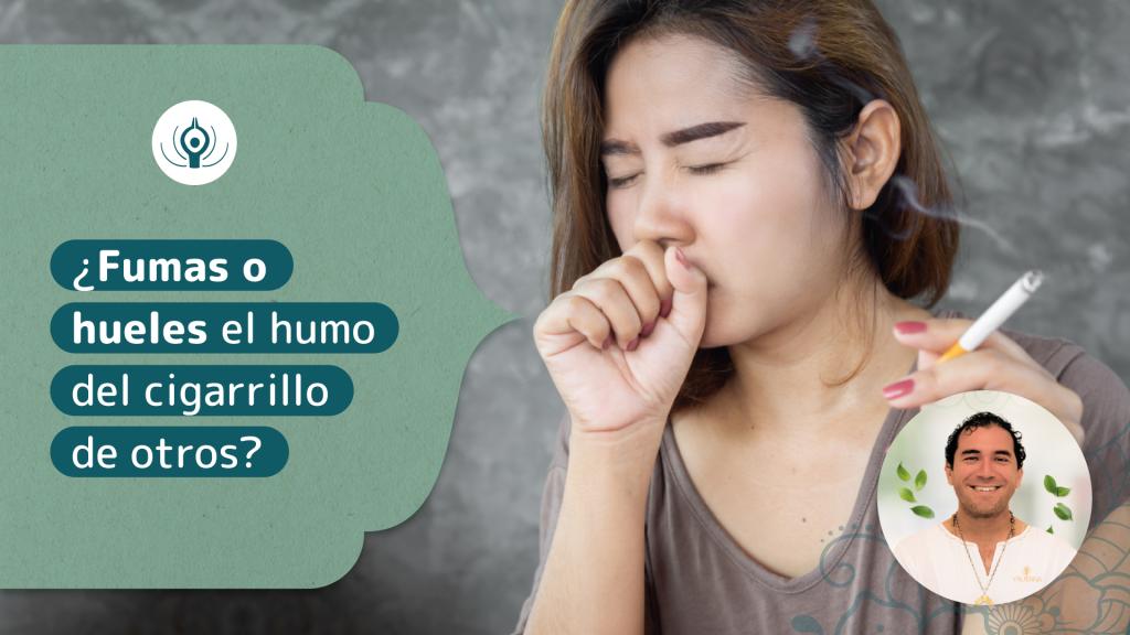¿Fumas o hueles el humo del cigarrillo de otros?
